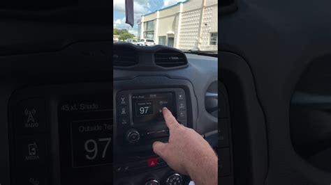 turn   auto park brake   jeep renegade