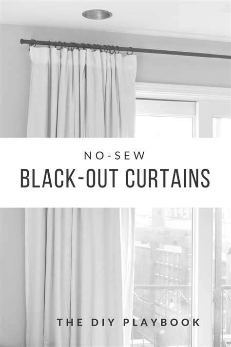 blackout curtains diy no sew black out curtains delighted to be diy shower Diy