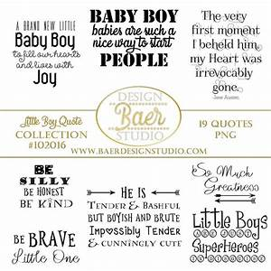 Quotes about Boys Baby Boy Quotes Photo Overlays Little ...