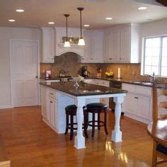 1000  images about Kitchen islands with seating on end on
