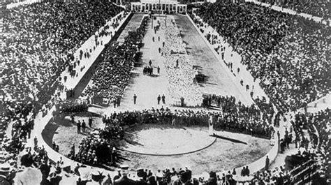 le 6 avril 1896 les premiers jeux olympiques de l 232 re