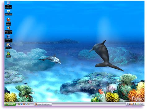 Dolphin Animated Wallpaper - free animated dolphin screensavers wallpaper wallpapersafari