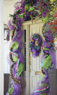 ideas by mardi gras outlet carnival season is here door decorating ideas for the home