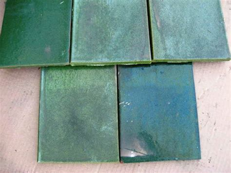 ludowici roof tile green glazed flat shingles tile tc ebay