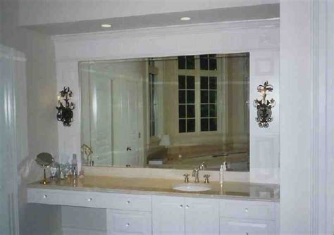 How To Install A Frameless Bathroom Mirror by Bathroom Mirrors Cut To Size Decor Ideasdecor Ideas