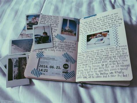 travel journal pages  scrapbook inspiration ideas