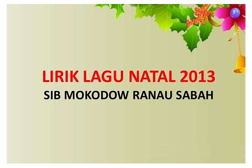 download lagu natal borngin nabadia