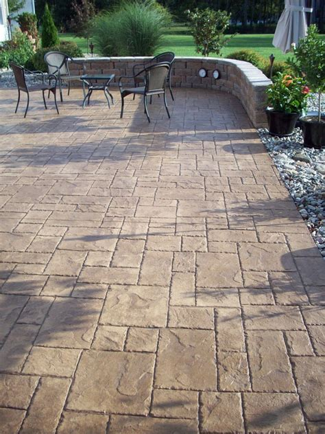 patio concrete outdoor indiana jpg custom back yard