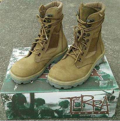 Leather Terra Boots Combat