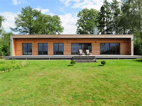 Moderne Dänische Häuser by Holzhaus Baufritz Bungalow Modern