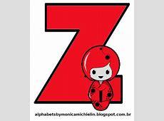Alphabets by Mônica Michielin ALFABETO BONECAS JAPONESAS