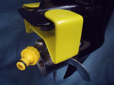 Mercury Outboard Motor Flushing Attachment by Outboards After Saltwater Use Trawler Forum