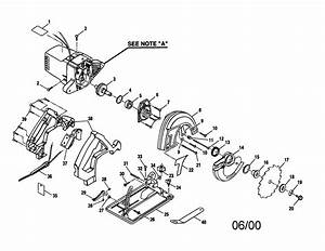 Craftsman 315275160 Circular Saw Parts