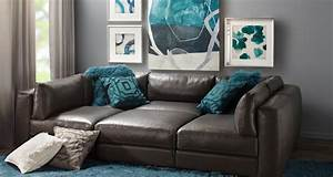 modular sofas affordable chic sectionals z gallerie With sectional sofas z gallerie