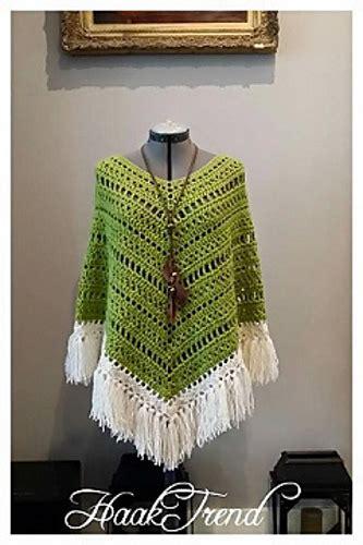 summer poncho  crochet patterns