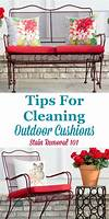 Tips For Cleaning Outdoor Furniture how to clean outdoor cushions patio furniture