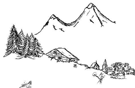 disegni da colorare paesaggi disegni di paesaggi montani playingwithfirekitchen