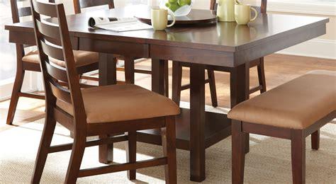 eden dark cherry extendable square dining table edtc