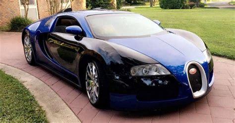 That's what it's like to drive a bugatti. Florida Man Selling $125,000 Bugatti Veyron Replica That's Actually a Mercury Cougar - Maxim