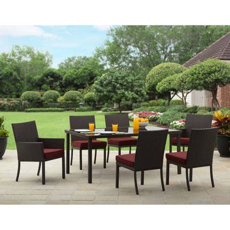 homes  gardens rush valley  piece patio dining
