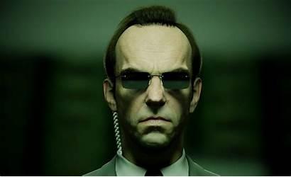 Matrix Hugo Weaving Agent Smith Won Robots
