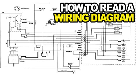read  electrical wiring diagram youtube