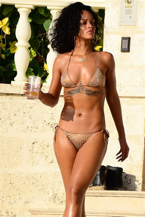 nicki minaj swimsuit rihanna nicki minaj s best bikinis pics of their