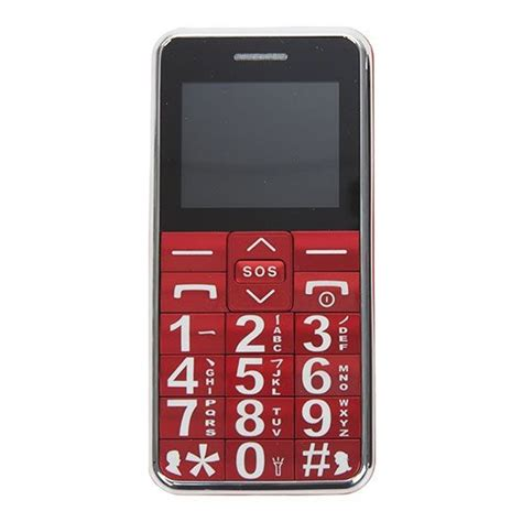 large digit senior citizen mobile phone unlocked with sos big buttons micro sd ebay