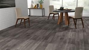 Dalle Pvc Imitation Parquet : sol vinyle imitation parquet gris luna lub ron vinyl hardwood floors flooring et adhesive ~ Melissatoandfro.com Idées de Décoration