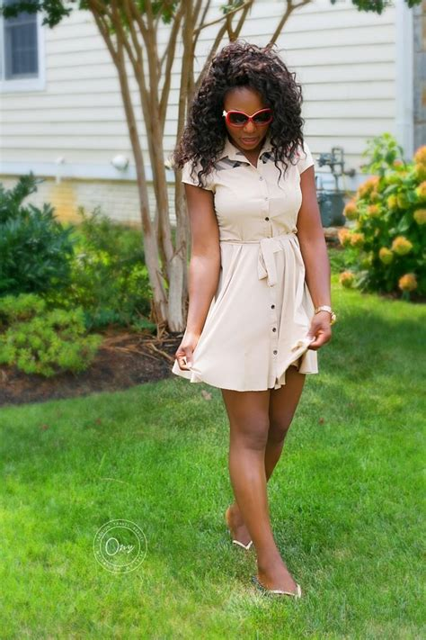 Burberry Short Dress for Summer - Short Flirty Dress