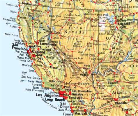 Carte Cote Ouest by 28 Map West Coast Usa Pics Photos Map Usa West