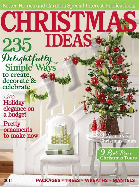 festive flourishes in better homes and gardens
