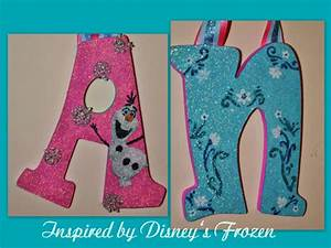 turquoise pink glitter frozen inspired snowflake With pink glitter letters for wall