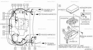 240 - Wiring For X-trail T30 Nissan X-trail