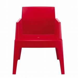 Fauteuil Jardin Design : fauteuil de terrasse moderne en polypropyl ne box 4 pieds tables chaises et tabourets ~ Preciouscoupons.com Idées de Décoration