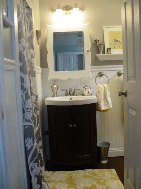 gray bathroom ideas 11 best yellow gray bathroom ideas images on
