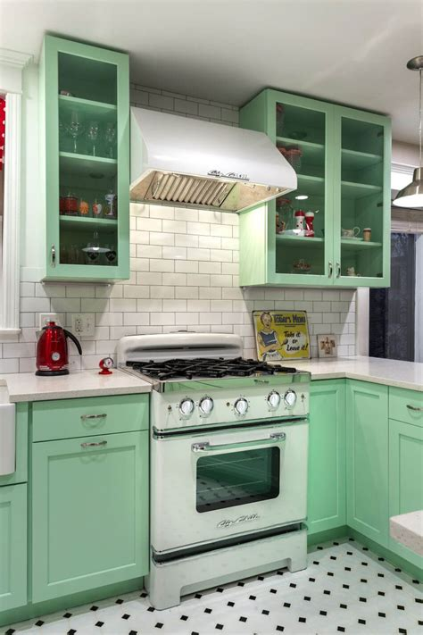 photo cuisine retro la cuisine retro vintage garantit un véritable