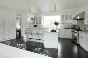 Marble Top Kitchen Island Angled Kitchen Island Transitional Kitchen Weitzman Halpern Design