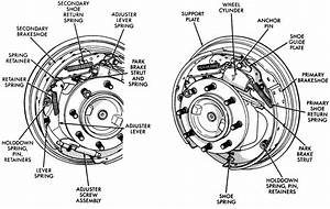 How Can I Get A Digram Of Drum Brakes To Change The Wheel