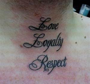 50+ Awesome Respect Tattoos