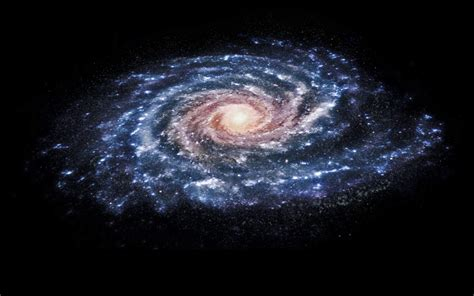 How Is The Milky Way Formed by Milky Way Nearly Collided With Smaller Galaxy In Cosmic