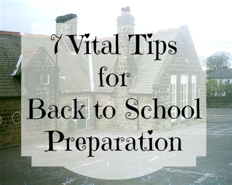 7 back to school and s 7 vital tips how to prepare for back to school u me and the