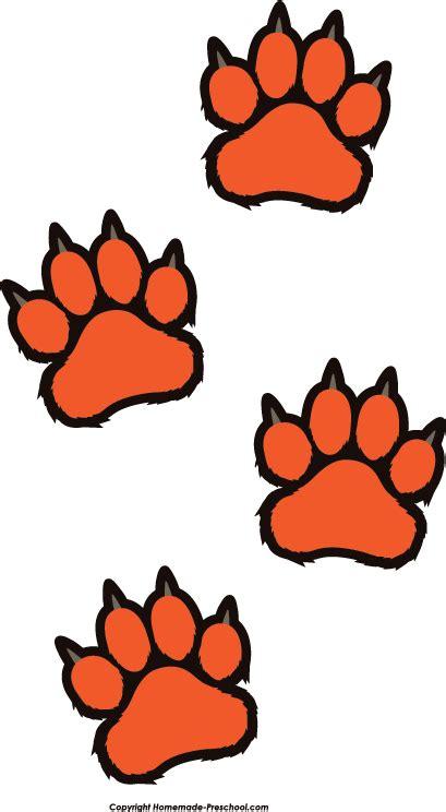 Tiger Paw Clip Tiger Paw Clipart Clipart Suggest