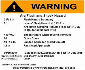Updated for 2015 are your arc flash labels compliant for Arc flash labels nfpa 70e 2015
