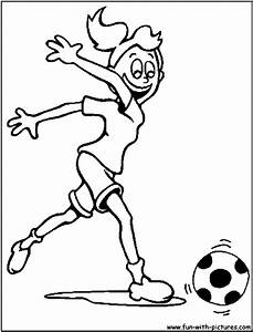 Girls Playing Football Clipart (35+)