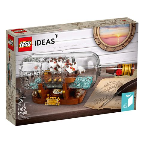 lego ideas 2018 lego ideas ship in a bottle 21313 officially announced the brick fan