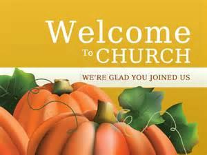 PowerPoint Welcome Church Clip Art