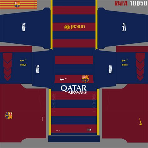 F.C. Barcelona 2018/19 Nike Kit - Dream League Soccer Kits