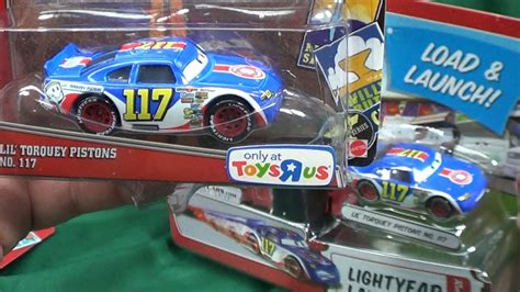 Disney Cars Lil Torquey Pistons Toys R Us Exclusive
