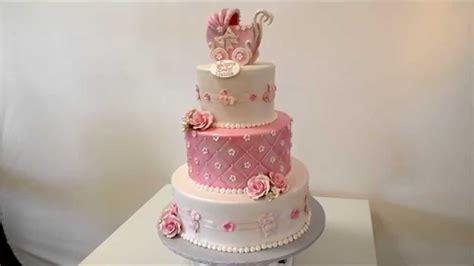 baby theme  tier cake youtube
